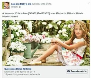Coleção Primavera Verão 2015 Diforini - Campanha Bolsa Infantil Diforini