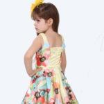 Vestido Miss Cake Vestido Infantil Miss Cake com Estampa EXCLUSIVA
